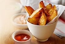 Slimming World chips and ketchup – Guilt free comfort food..  You have to try these!!!