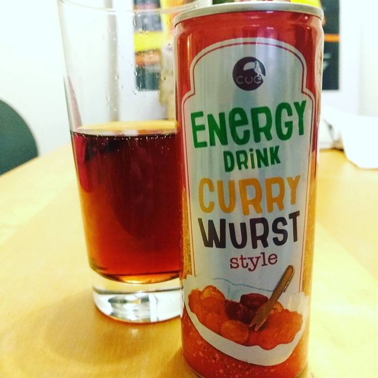Currywurst Energy Drink