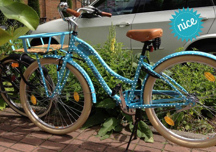 210+Fahrrad+Aufkleber+♥+Punkte+1+cm+von+hellographic+auf+DaWanda.com