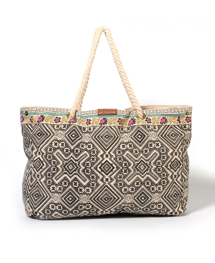 Billabong Brightside Canvas Beach Bag!!! | Travel/Beach | Pinterest