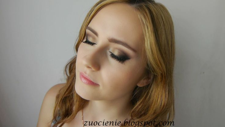 neutral colours night makeup