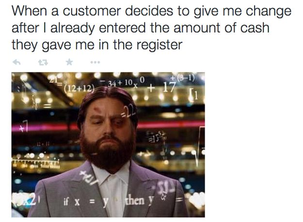 On channeling your inner Einstein: | 25 Pictures That Will Give Retail Workers Intense Flashbacks
