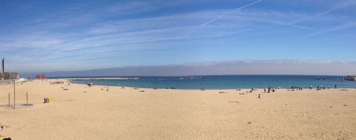 Barcelona, playa de la Nova Icaria