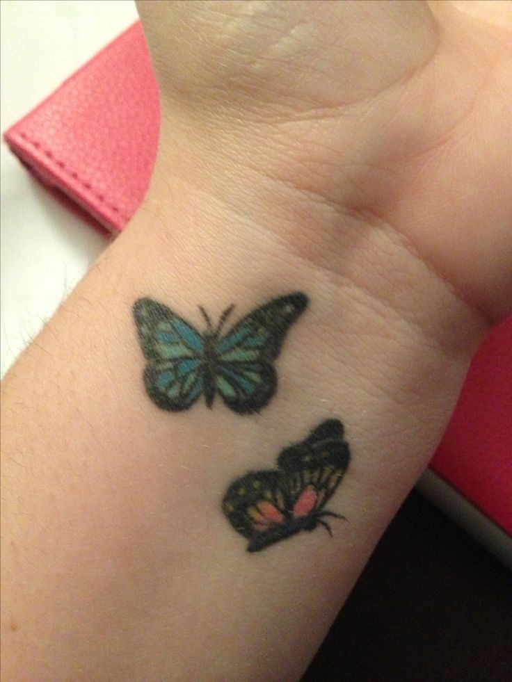 13 Best Small Heart Wrist Tattoo Designs Butterfly Images