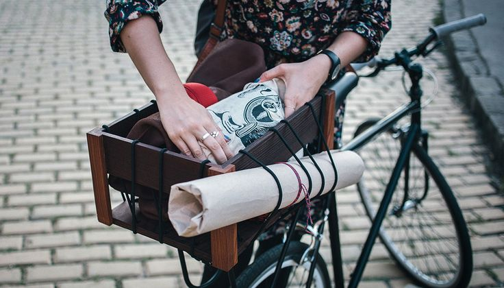 Fiets in stijl met de Paperspokes fietskratten - Spotting the Cool