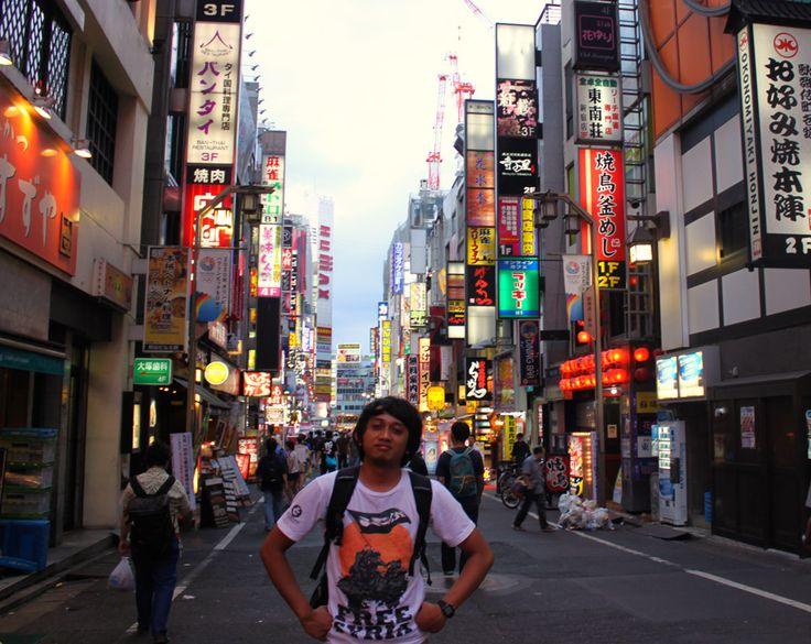 at Shinjuku, Japan