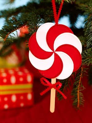 Easy Christmas decorations to make with your kids.