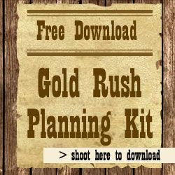 Gold Rush Theme Day - The Ultimate Camp Resource - Could this be adapted for a Friday activity or a week-long activity???