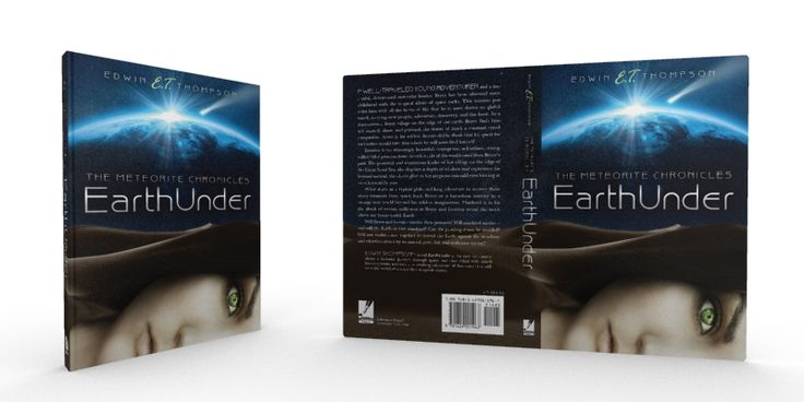 Book Cover Design - EarthUnder