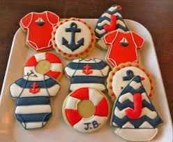 Image result for nautical cookies