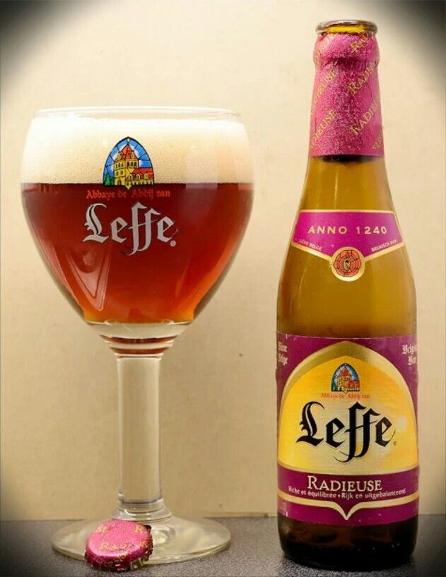 Leffe Radieuse Beer, Abbey Notre-Dame of Leffe, Dinant (Belgium)