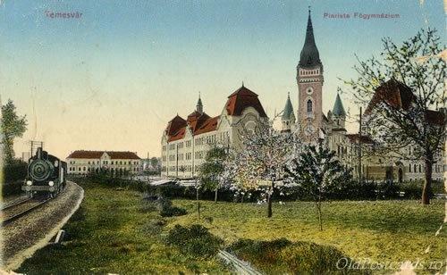 Timisoara - Liceul Piarist - 1911