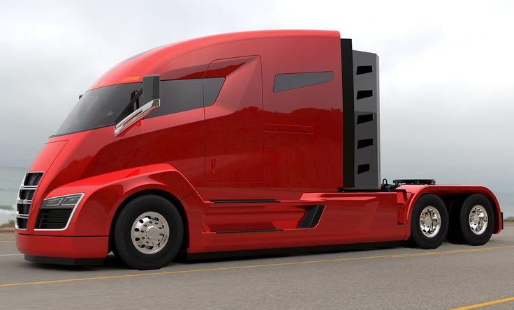 El prototipo de este transporte futurista de la startup Nikola Motor ya cuenta con 7.000 pedidos por un valor de 2,3 mil millones de dólares durante el primer mes de reservas.