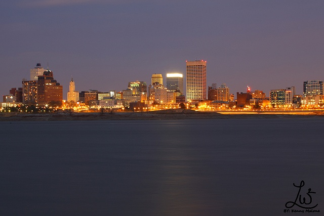 Never Get Sick Of Seeing The Memphis Skyline Anytime I Come Home From A Place That Requires Me