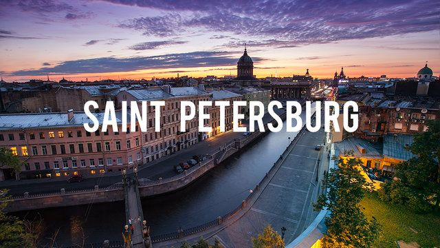 Saint Petersburg timelapse by Georgy Tolstoy. Saint Petersburg, Russia. Timelapse 2012-2013. over 14000 shots.