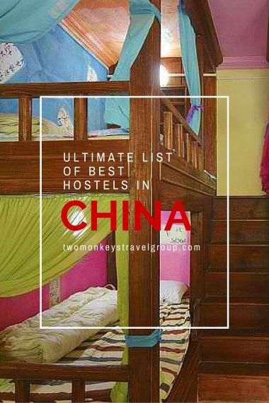 BEST HOSTELS IN CHINA – includes rates, locations and great reviews that will definitely help you with your stay in China!  In this article, you will find the following – Best hostels in Beijing; Best hostels in Shanghai; Best hostels in Xi'an; Best hostels in Chengdu; Best hostels in  Guilin; Best hostels in Kunming; Best hostels in Hangzhou; Best hostels in Guangzhou; Best hostels in Yangshuo; and Best hostels in Lijiang. #BestHostels #China #TwoMonkeysTravel Group