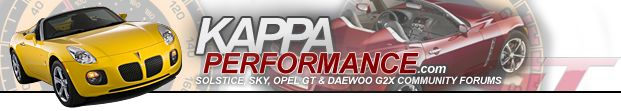 Kappa Performance Forum- including Pontiac Solstice !