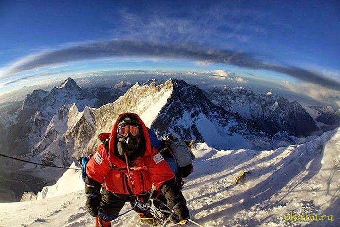 Величественные фотографии Эвереста