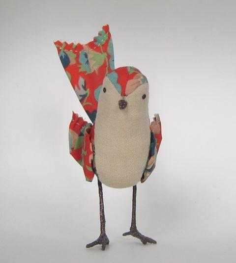 Cool! Barkcloth Bird