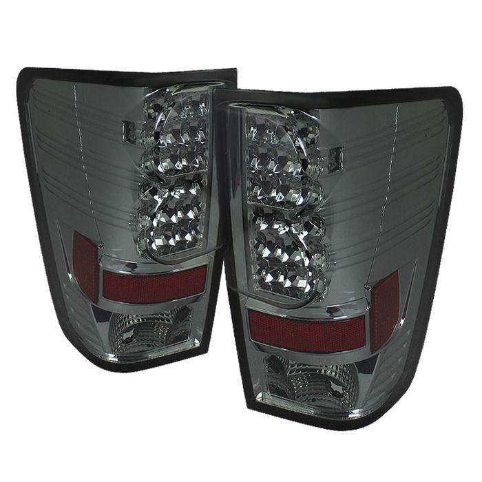 Spyder Auto | Nissan Titan 04-15 LED Tail Lights - Smoke