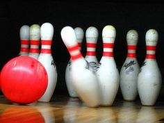 Bowling games:  Bowl backwards  Bowl through the birthday child's legs  Do a silly walk as you approach the lane  Bowl with your other hand  Bowl in slow motion  Bowl with your eyes closed  Predict whether you will knock over an odd or even number of pins  Have others predict how many pins each player will knock down