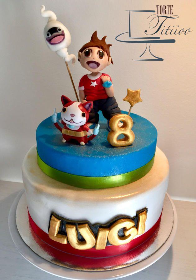 Yo-kai watch - Cake by Torte Titiioo