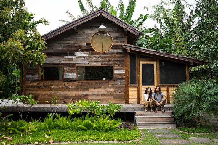 Inside the artful, beachy retreat Filmmaker Jess Bianchi and jewelry designer Malia Grace Mau built on a Hawaiian papaya farm