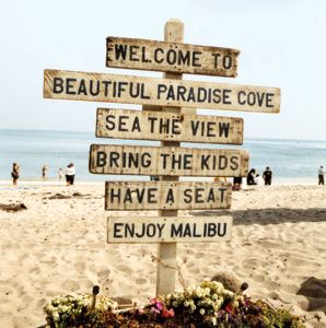 This is one of the beaches I grew up on in Malibu.  Great place for families with a yummy restaurant right on the sand and calm waves for the kiddos.