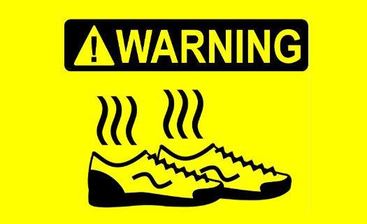 Dez dicas para eliminar o mau cheiro dos sapatos