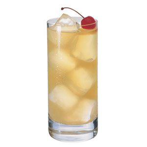 Tom Collins--a character from Rent and a sparkling lemonade vintage cocktail.  With some tweaking, it could be a signature cocktail...