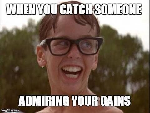 That face...when you catch someone admiring your gains. It's almost time for it! #TheSandlot #BikiniSeason #cantwait