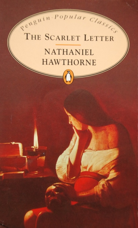 nathaniel hawthornes the scarlet letter with the penitent magdalene as cover