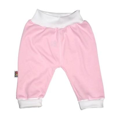 Pantalon rose en 100% coton pour bébé http://simedio.fr