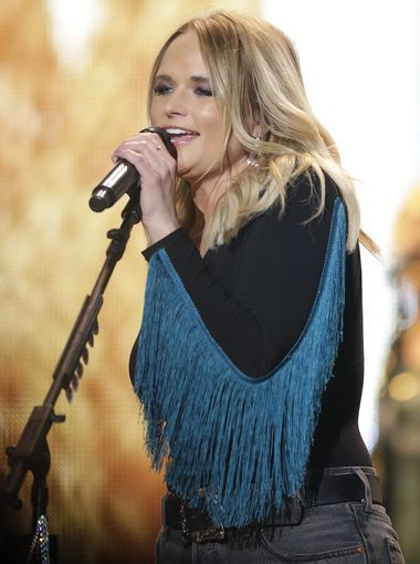 Country singer-songwriter Miranda Lambert performed