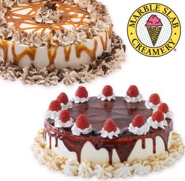 Small OR Large Ice Cream Cake, 10 Flavours to Choose from at Marble Slab Creamery - 12 BC Locations (Up to 53% Off)