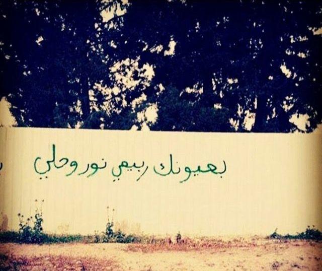 أنا لـ حبيبي و حبيبي إلي Mural Art Empty Wall
