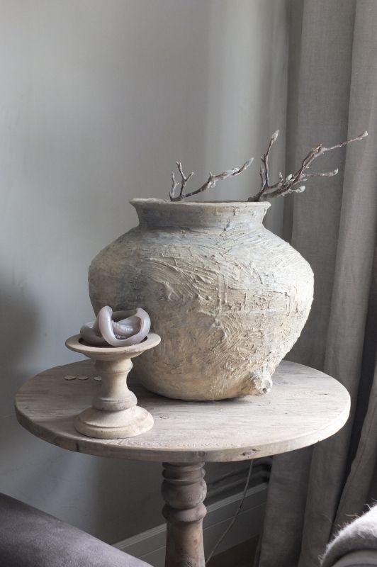 Oude kruik, pot - verkocht - | - Nieuwe collectie | Styling&Living, ANNIE SLOAN DEALER EN UW ADRES VOOR EEN LANDELIJKE, STOERE WOONSTIJL