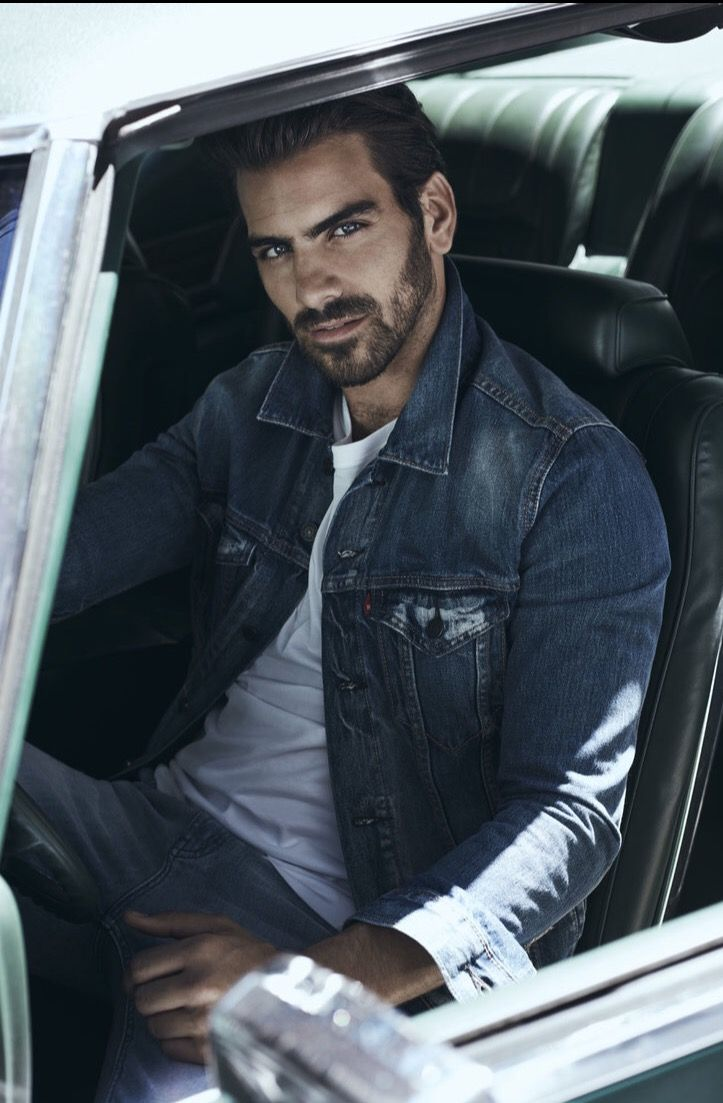 Nyle DiMarco - loved him on antm. So hawt with those blue eyes