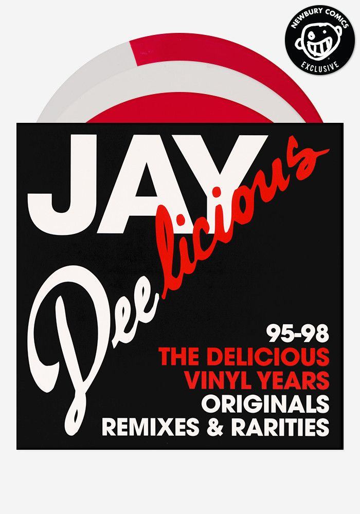 Jay Deelicious The Delicious Vinyl Years Exclusive 3 Lp J Dilla Vinyl Remix