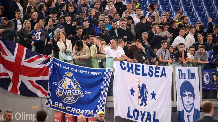 Two arrested after Chelsea fans attacked in Rome ahead of UCL match
