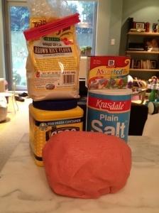 Gluten Free play doh ingredients