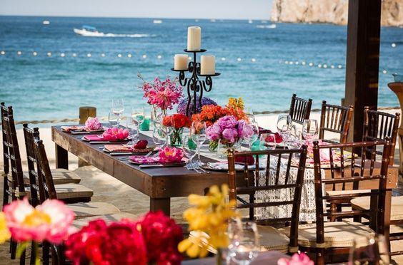 Boda en la playa. Estilo mexicano! Lo mejor para tu Boda mexicana. Mexican wedding www.miboda.tips