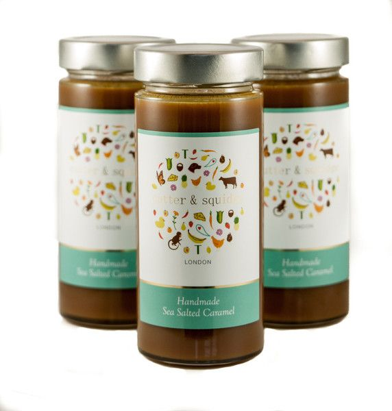 Our sea salted caramel has won 3 Great Taste stars and was named as one of the Top 50 products of 2014. Delivery in London and UK.