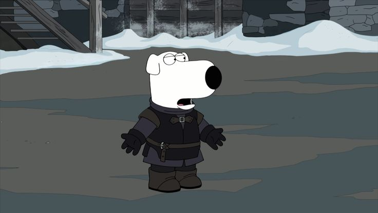 Brian Joins The Night's Watch In FAMILY GUY Meets GAME OF THRONES Parody