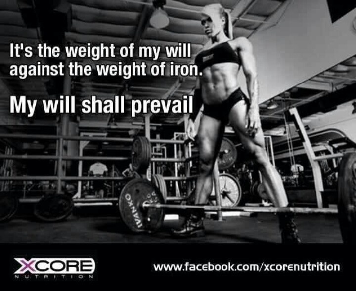 My will shall prevail.
