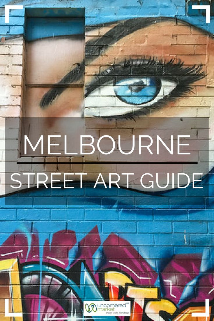 A guide to exploring street art in Melbourne; the perfect lens for experiencing the city. Travel in Australia. | Uncornered Market Travel Blog: Travel Wide, Live Deep