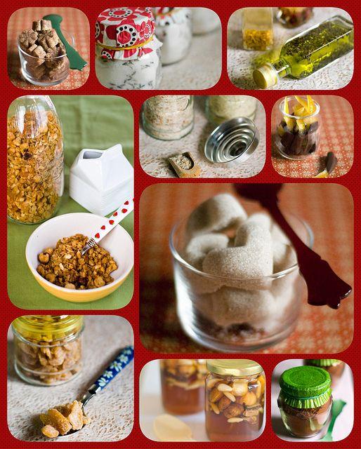 10 barattolini golosi da regalare a Natale (10 Christmas gift in a jar) #lapatataingiacchetta #christmasgift