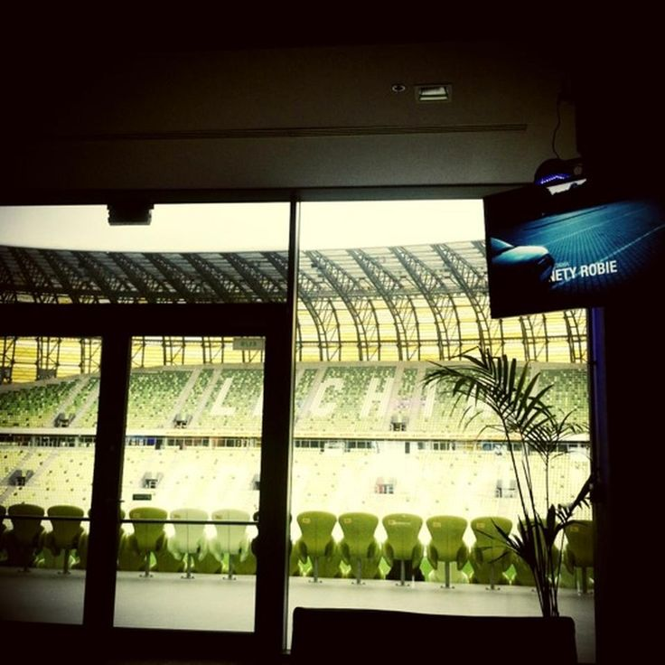 Lounge VIP on Footbal Gdansk Stadium. I remember perfectly that place with the period of construction PGE Arena Gdańsk - in winter dogrzewaliśmy here because there was a huge frost.(960×960) #VIP lounges #Gdansk Footbal Stadium  http://kalinowskipro.pl