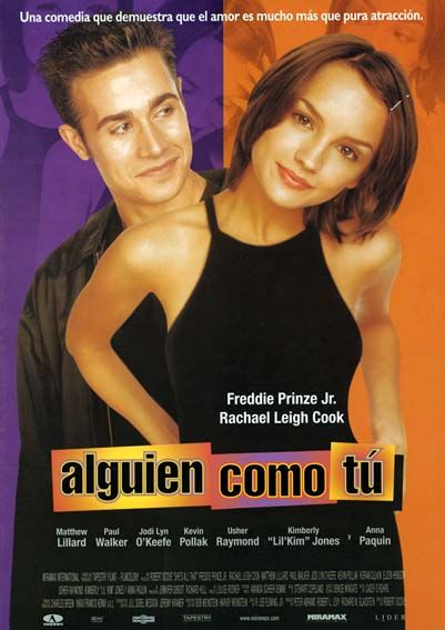 "Alguién como tú (1999) ""She's All That"" de Robert Iscove - tt0160862"