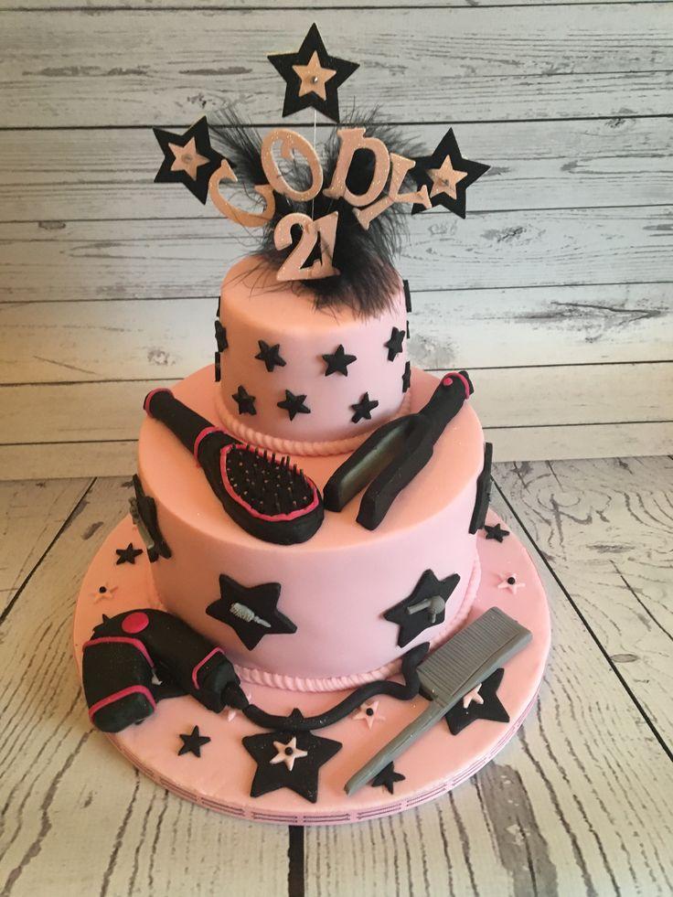 Hairdressing cake cake hairdresser birthday cake